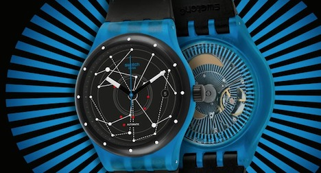 Buoyant Swatch sales for 2013 hit by strong franc