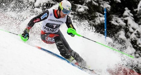 Ligety claims third World Cup win at Wengen