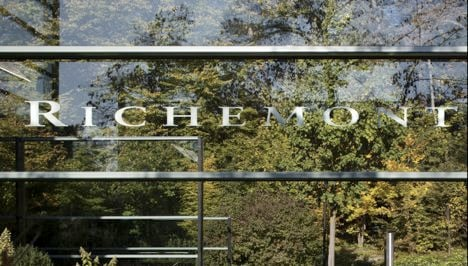 Strong euro hits luxury group Richemont's sales