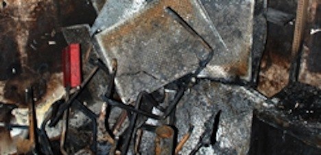 Arsonists jailed for Lausanne library fire