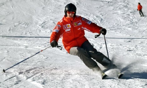 Schumacher was 'skiing slowly' before accident
