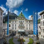 The hotel from the frontPhoto: Grand Hotel Kronenhof