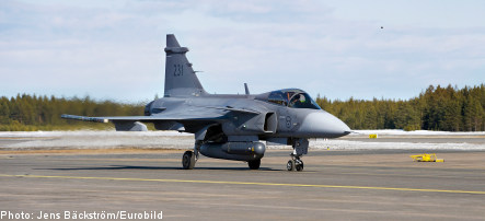 Swiss party tells Sweden to butt out over Gripen