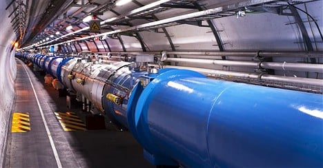 CERN eyes more powerful particle collider