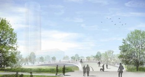 Voters back tower in west Lausanne suburb