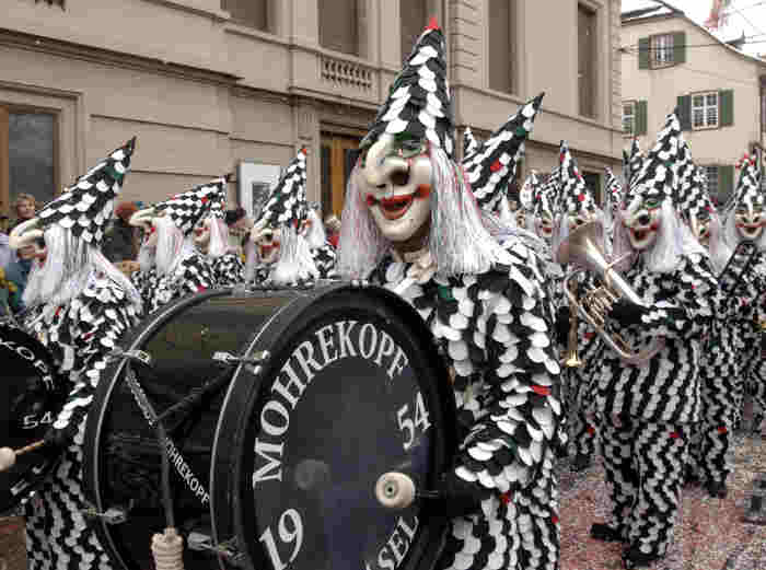 In pictures: Basel's expert carnival drummers