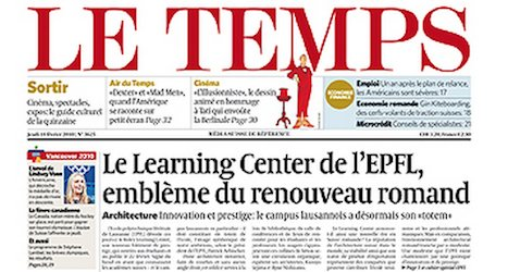 Ringier set to take over Le Temps newspaper
