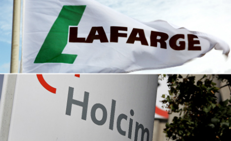Holcim in talks to create world's top cement firm