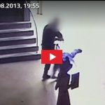 Policeman fined after video catches head kicks