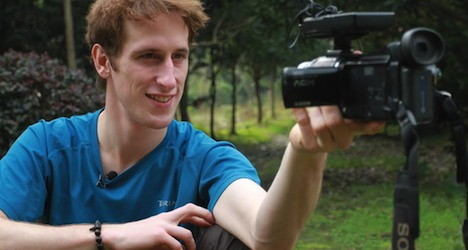 Swiss man wins contest for dream job in China