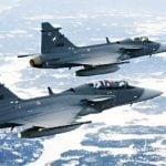 Voters shoot down Swedish fighter jet deal