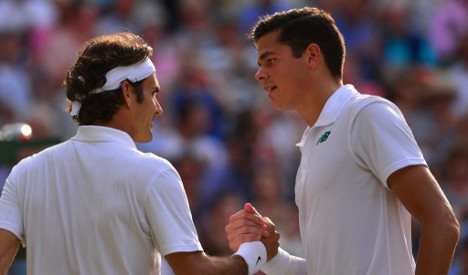 Federer into Wimbledon final for ninth time