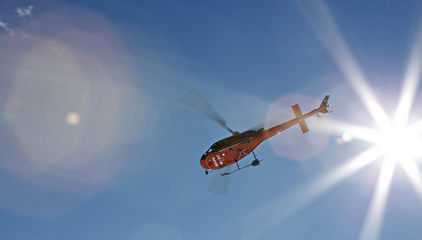 Helicopter and plane in near-miss in Zurich