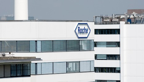 Strong franc eats into Roche first-half profits