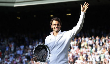 Federer forced to tear down kids' play area