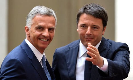 Swiss-EU relations on discussion table in Rome