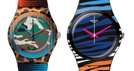 Strong franc dents Swatch first-half profits