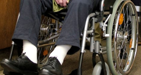 Wheelchair user killed in station by Swiss train