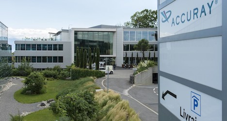 Accuray International opens HQ in Morges