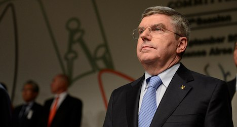 IOC chief warns Germany against 'complacency'