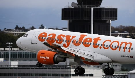 EasyJet expands routes from Swiss airports