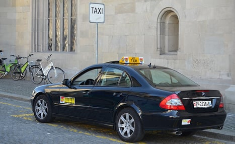 Zurich taxis charge world's highest fares