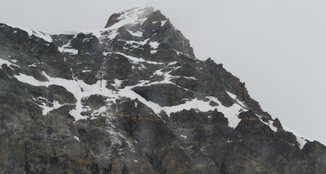 German climber dies in Valais mountain accident