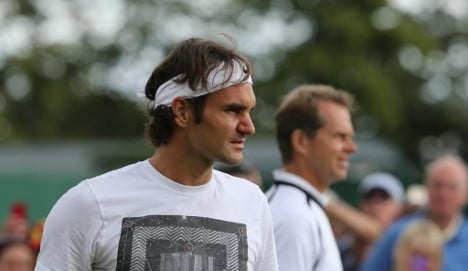 Edberg takes charge of Federer in Toronto