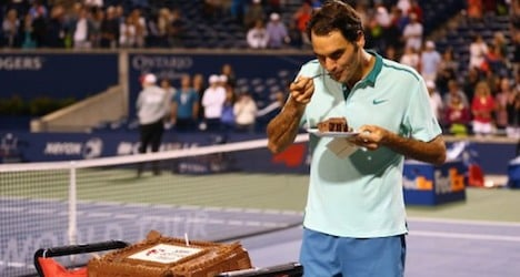 Federer marks birthday with Toronto Masters win