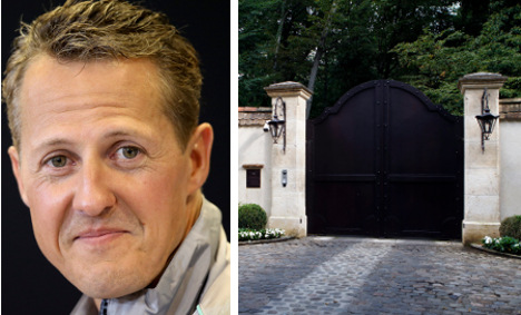 Swiss police called to Schumacher's home
