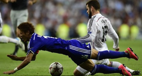 Real Madrid thrash Basel in Champions Cup game
