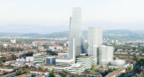 Roche reveals towering plans for Basel site