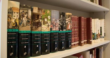 Last volume of Swiss history lexicon finished
