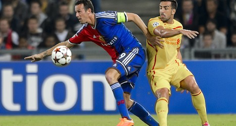FC Basel beat lame Liverpool 1-0 at home