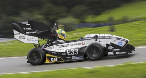 Swiss electric car sets world acceleration record