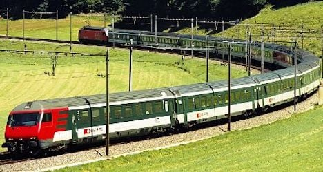 Seven cows killed by Swiss passenger train