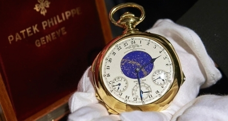 Geneva watch fetches $21 million at auction