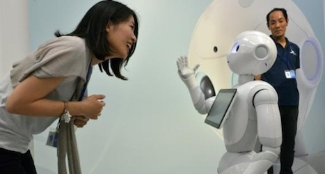 Chirpy robots to sell Nescafé to Japanese