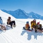 2.Toboggan Europe's longest sledge run —  There are toboggan runs all over Switzerland, but the longest is the 15km run from the Faulhorn near Grindelwald in the Bernese Oberland. It takes dedication to get there — the start of the run, at 2,686m, is a 2.5-hour hike from the top of the first cable car. But the reward is 15km of uninterrupted sledging back down to Grindelwald. www.grindelwald.chPhoto: Christof Sonderegger/Switzerland Tourism