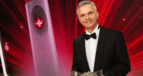 Ex-president elected 2014 Swiss of the year