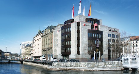 Hackers steal client data from Geneva bank