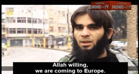 Isis video encourages Swiss terror attacks