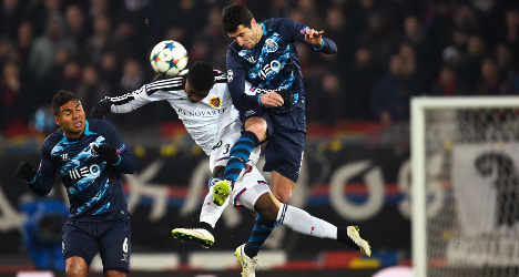 Basel draw first blood in Porto clash at home
