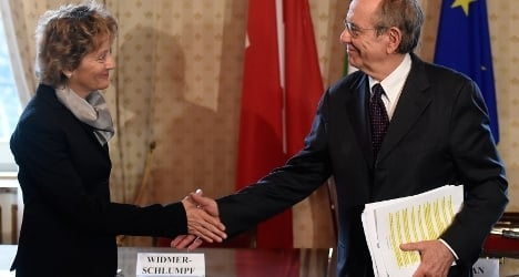 Swiss agree with Italy to fight tax dodgers