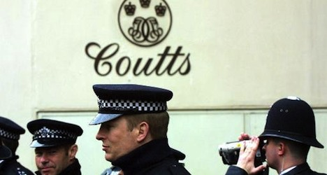 Germans probe Coutts bank's Swiss branch