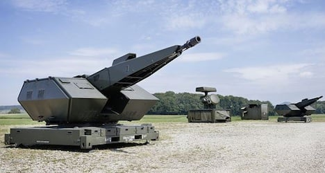 Swiss military weapons exports soar in 2014