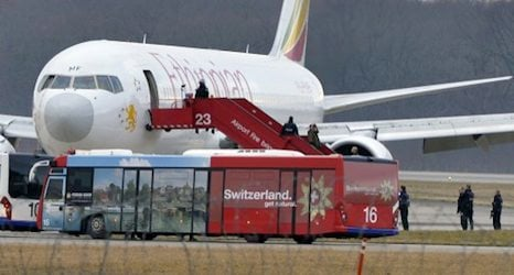 Ethiopian pilot jailed in absentia for hijacking