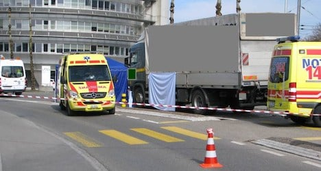 Teenage cyclist killed in crash with truck
