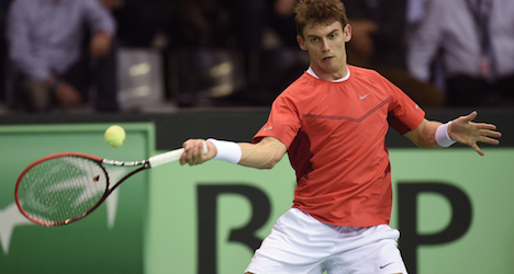 Belgians knock Swiss out of Davis Cup tourney