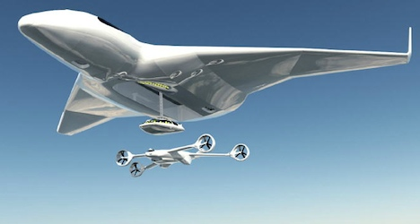 Mid-air plane refuelling 'could slash costs'